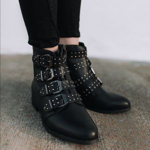 Vici Slade Studded Vegan Leather Bootie